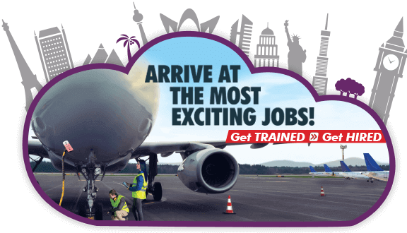 Ground staff training for airport & airline jobs